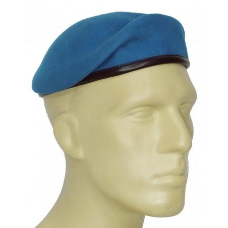 SV Beret embossed, blue