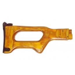 Wooden butt for machine gun...