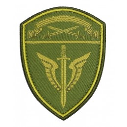 Woven patch of the...