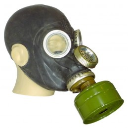 GP-5M gas mask, black