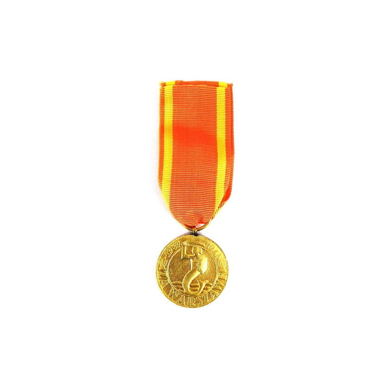 for warsaw 1939 1945 medal frontowiec com
