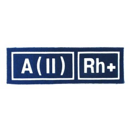 A (II) RH+ tab, blue