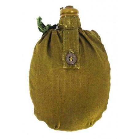 Chusta medyczna - bandana oliwkowa, duża