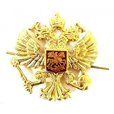 Two-headed eagle with shield