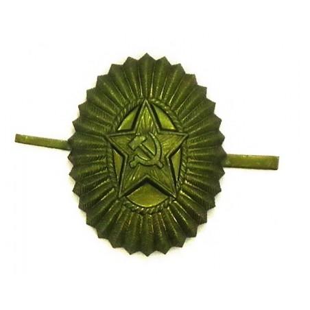 Kokarda z gwiazdą oficerska - polowa, galwanizowana