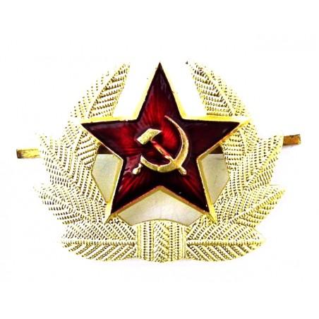 Kokarda (gwiazda z liśćmi) na czapkę szeregowców