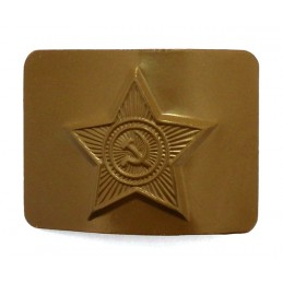 Belt buckle with a star,...