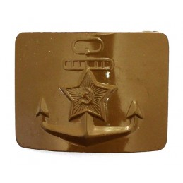 Seaman's belt buckle with...