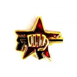 """Miniature badge - """"Fist..."""