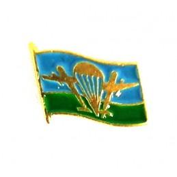 "Metal pin with ""VDV Flag"""