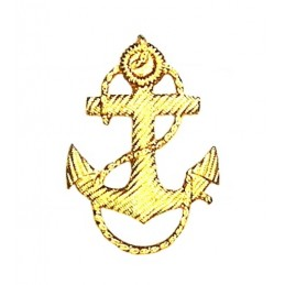 Anchor on epaulets and...