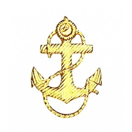 Anchor on epaulets and sleeves of fleet student
