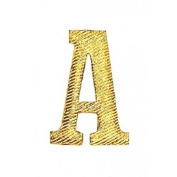 "Metalowa literka ""A"" na..."