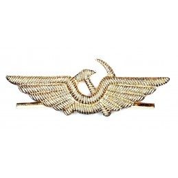 Civil aviation cap insignia