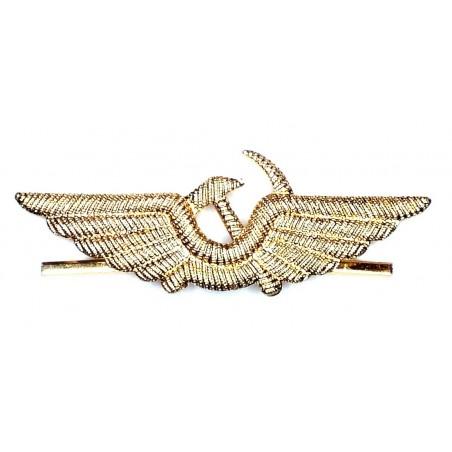 Odznaka lotnicza na czapkę - Lotnictwo Cywilne
