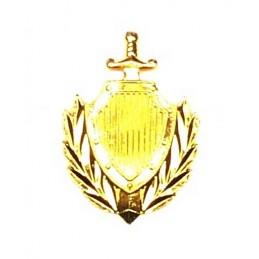 """""""MVD"""" - branch insignia, modern, gold"""