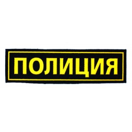 """Police"" insignia"