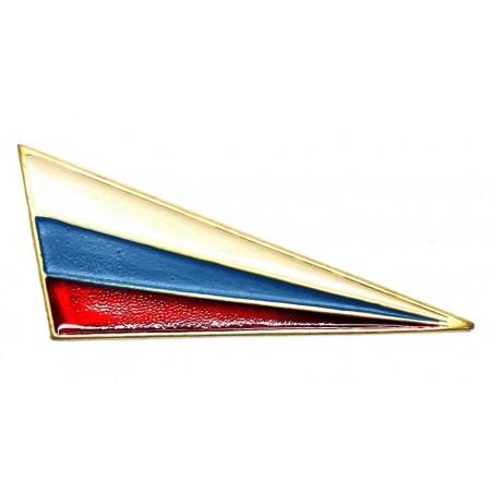 Szewron na beret z flagą, ogólnowojskowy