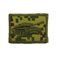 naszywki na kołnierz - korpusówki