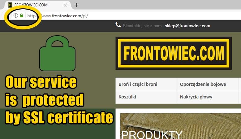 SSL certyfikate